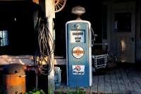 gasoline pump old
