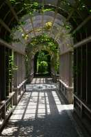 arches over walkway arbor