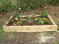 supported raised bed