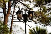 outdoor street lamp