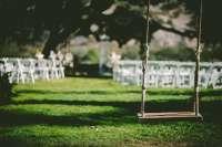swing outdoor wedding chairs