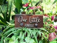 PersonifyGift Etsy jungle garden sign