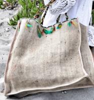 canvas bag garden beach tote