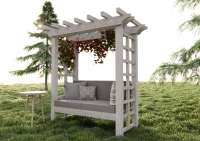 arbor bench plan Etsy